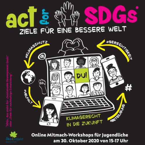 Mitmach Workshop: Ziele für eine bessere Welt!