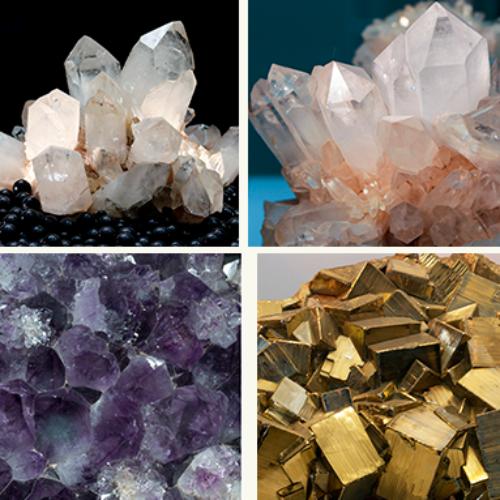 Bunte Welt der Minerale – Bastle einen Kristall