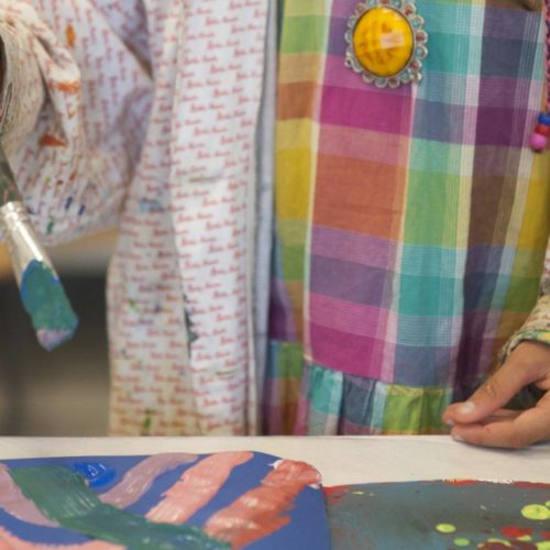 Kreativworkshop                                          im Haus der Kunst