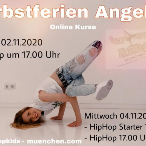 Herbstferien:HipHop-Kids           Tanz Workshop