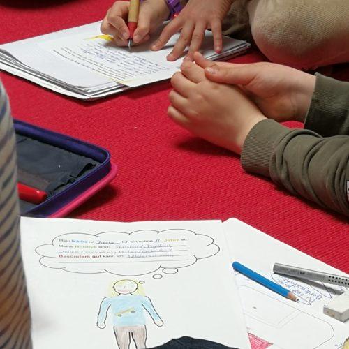Storytelling Club                                für 8 – 11 jährige kids