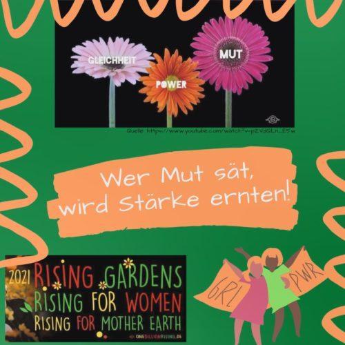 One Billion Rising – schick uns deine Idee!
