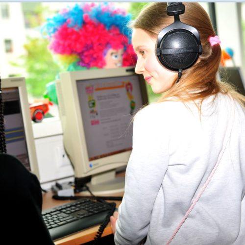 Kinder machen Radio für Kinder