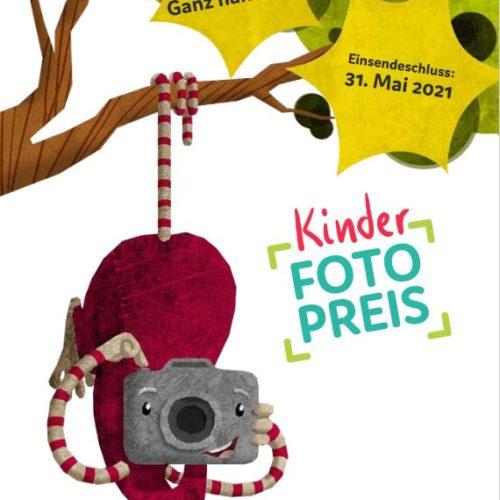 "Kinderfotopreis 2021 Thema: ""Ganz nah dran""!"