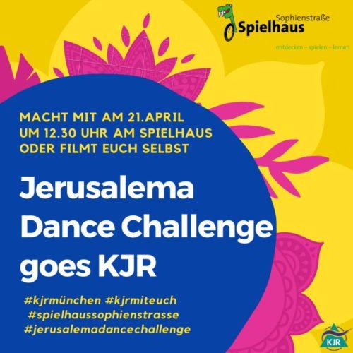 Jerusalema Dance Challenge goes KJR